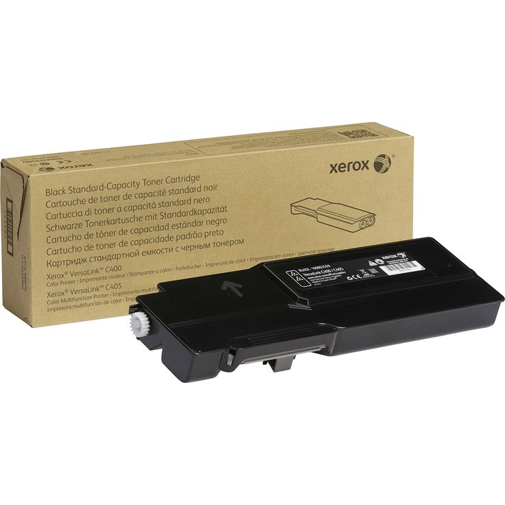 Xerox Toner Cartridge – Black – Laser – Standard Yield – 2500 Pages – 1 Each