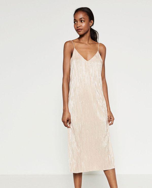 los vestidos de fiesta zara invierno 2018 - tendenzias | algodón