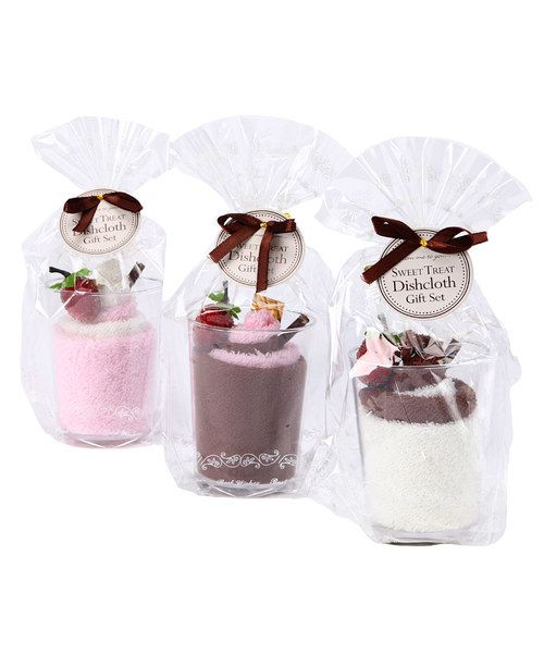 Take a look at this Ice Cream Sundae Dishcloth Set on zulily today!