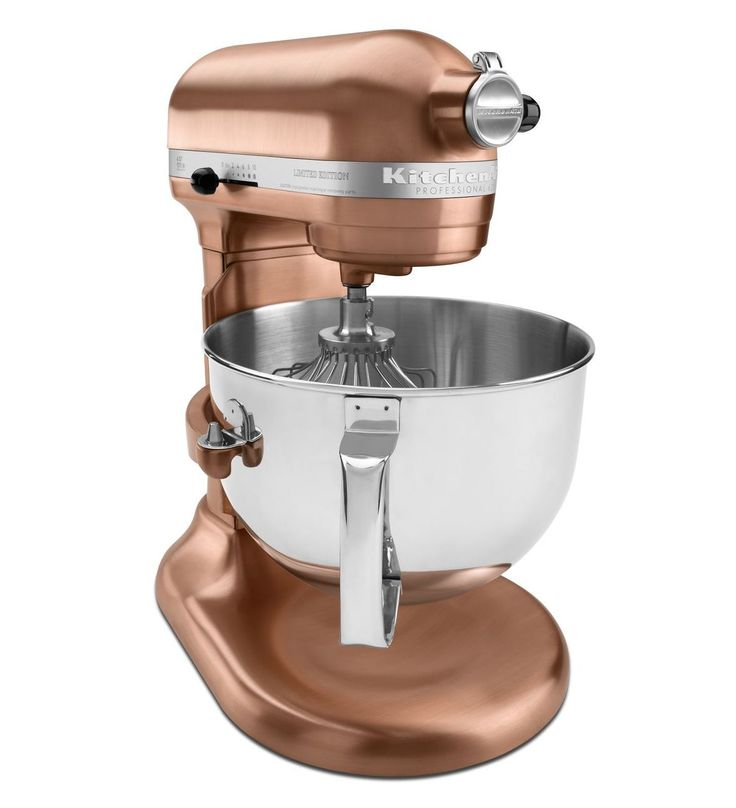 kitchenaid mixer in rose gold color craze rose gold