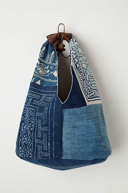 Vintage Denim Tote - anthropologie.com