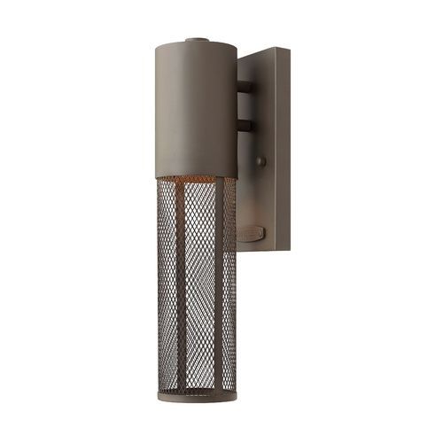 Modern LED Outdoor Wall Light in Buckeye Bronze Finish | 2306KZ-LED | Destination Lighting