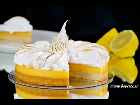 Tarta de limón y merengue suizo - Bavette