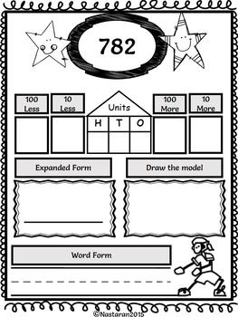 25 best ideas about place value worksheets on pinterest tens and ones number places and. Black Bedroom Furniture Sets. Home Design Ideas