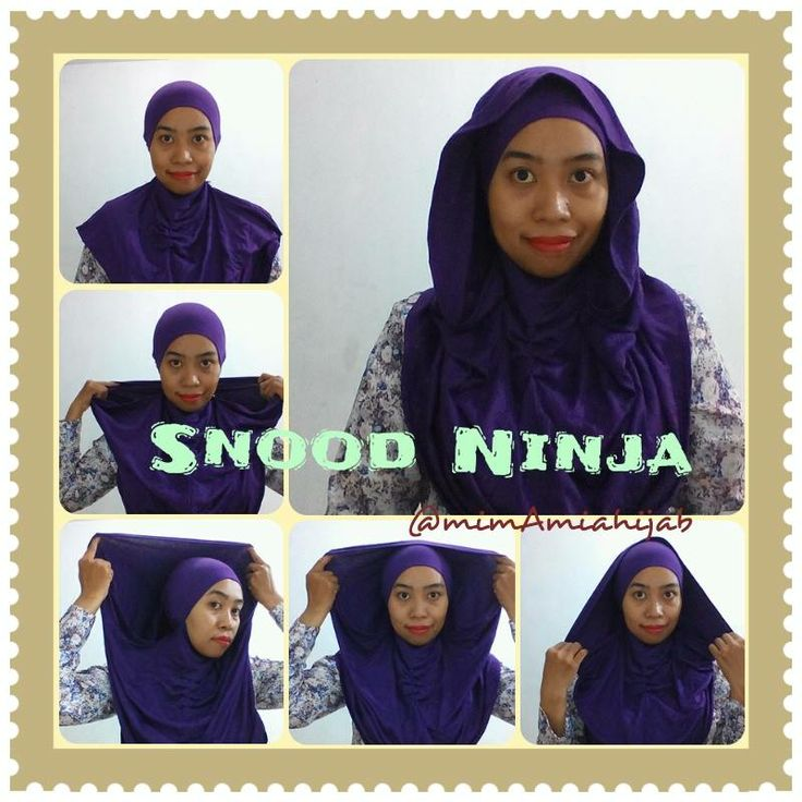Snood Ninja .. Order from Singapore
