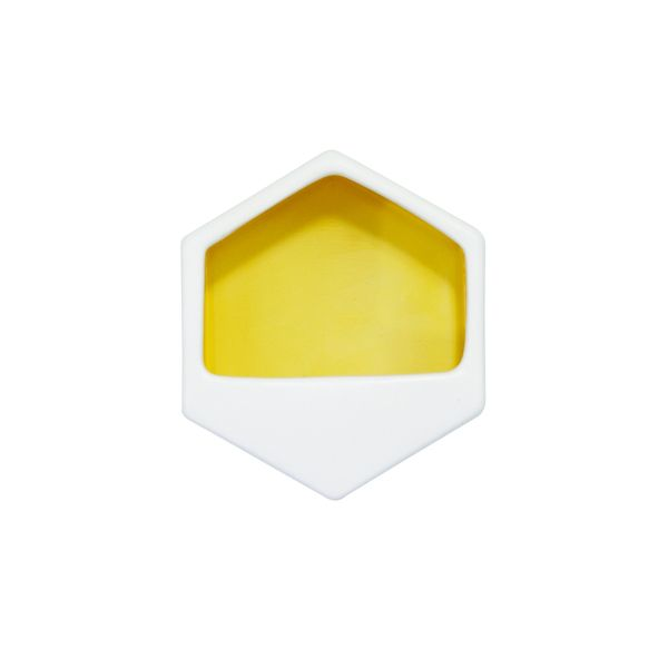 Large hex small yellow
