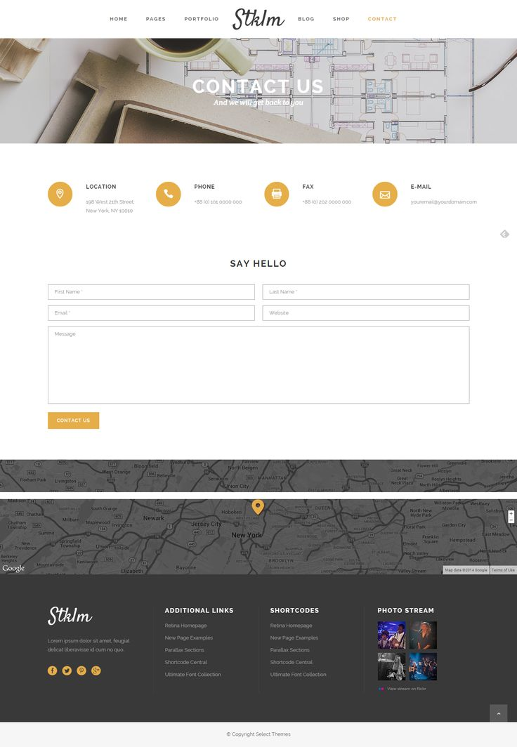 Best 25+ Contact page ideas on Pinterest Personal website design - contact book template