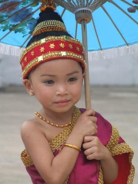Lao girl. - Explore the World with Travel Nerd Nici, one Country at a Time. http://TravelNerdNici.com