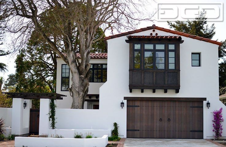 1000 ideas about spanish colonial homes on pinterest for Colonial garage