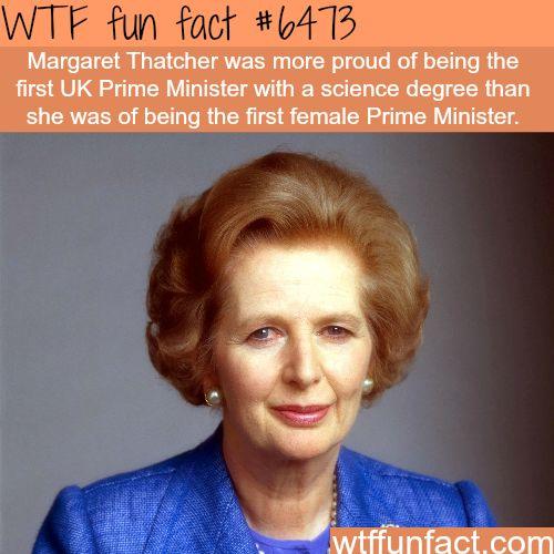 Margaret Thatcher - WTF fun facts