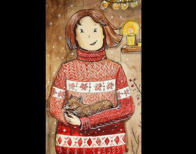 "Check out new work on my @Behance portfolio: ""christmas red sweater"" http://be.net/gallery/58596137/christmas-red-sweater"