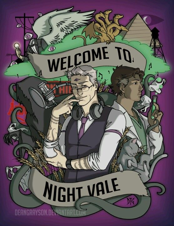 """""""Welcome to Night Vale"""" by Dean Grayson."""