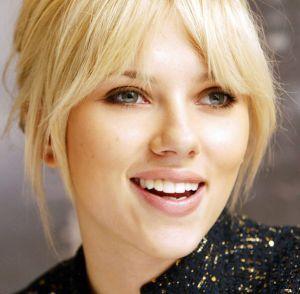 LOVE these bangs.: Hair Ideas, Scarlett Johansson, Shorts Hair, Beautiful, Scarlettjohansson, Bangs Bangs, Hair Style, Wigs, Fringes