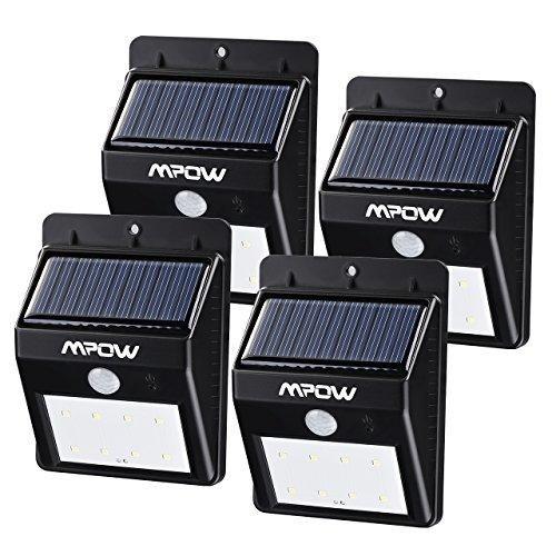 Oferta: 29.99€ Dto: -67%. Comprar Ofertas de Focos Solares 8 LEDs de Pared, Mpow Faro Solar con Sensor de Movimiento, Lámparas Solares al Aire Libre para Jardín Patio Cam barato. ¡Mira las ofertas!