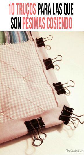 Si eres como yo seguramente también te cuesta mucho trabajo coser, aunque eso no quiera decir que no lo intentes. Por eso checa estos trucos para que coser no sea tan complicado