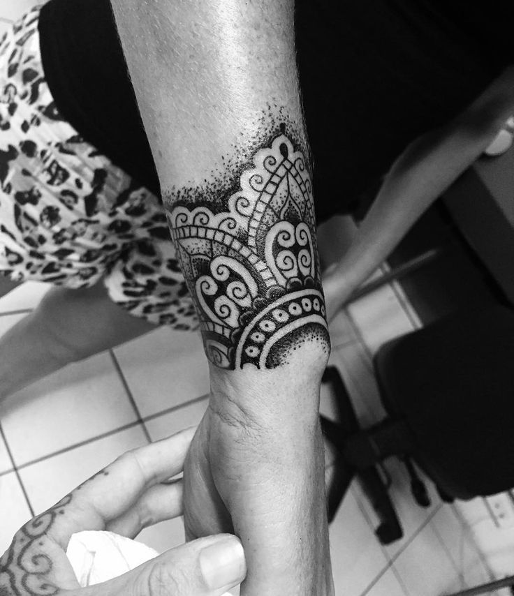 Image result for mandala wrist tattoo