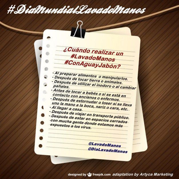 El l#LavadoManos #ConAguayJabón que es una práctica clave para evitar, entre otras, algunas infecciones respiratorias, como la #gripe y la #bronquiolitis