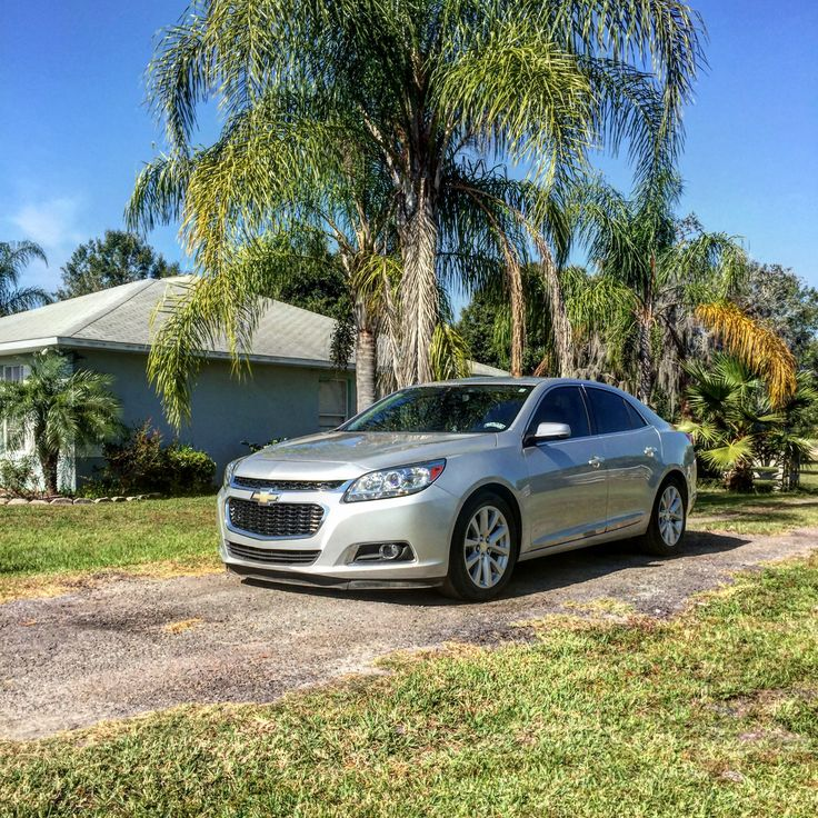 'ThrowBack' They didn't want me to get my wife a Malibu, so you know what I did... I got her a Malibu.  #2014 #Chevy #Malibu #Silver #LT #BowTie #BackroundLooksLikeParadise