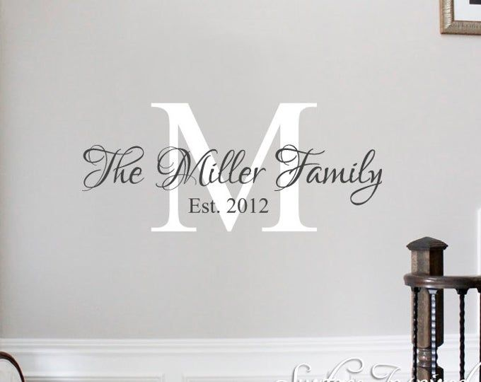 Wall Stickers Quote Together We Make A Family Vinyl Wall Etsy Wall Quotes Decals Wall Stickers Quotes Name Wall Decals