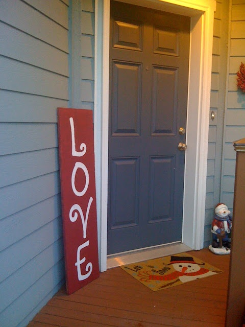 """Cricut stencil ideas. I would love to make a sign like this for the outside of my house that says """"Love dwells here!"""""""