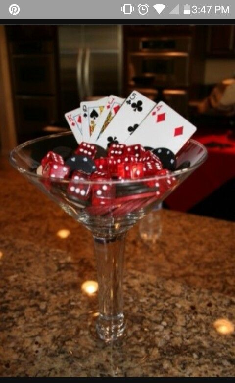 how to make a casino table