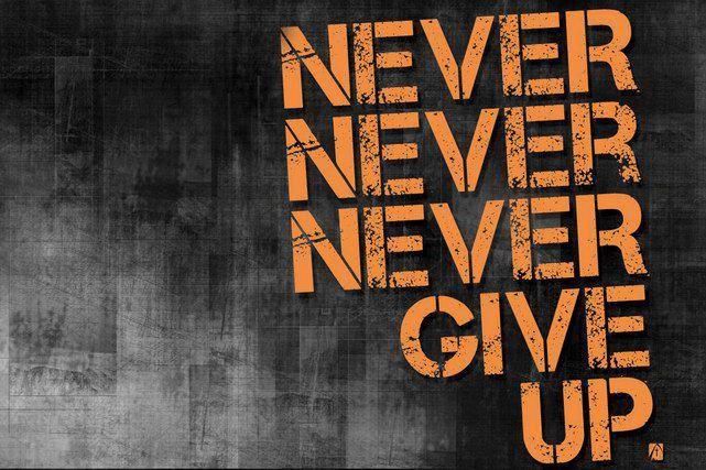 Ποτέ μην εγκαταλείπεις! Υπομονή και ζεστό χρήμα