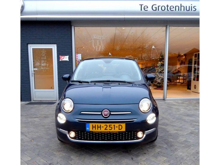 """Deze Fiat 500 0.9 TWINAIR TURBO LOUNGE,NAVI, 16\"""", CLIMA, PDC nu extra voordelig bij Gebruikte Fiat Nederland"""
