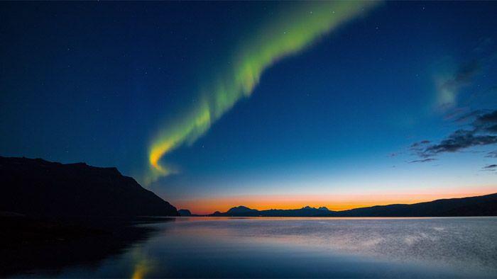 Filmař časosběrně natočil největší přírodní krásy Norska