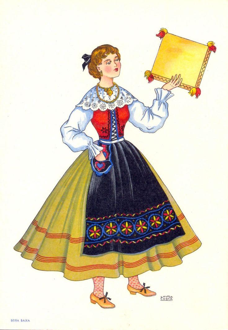 Portuguese traditional costume. Beira Baixa