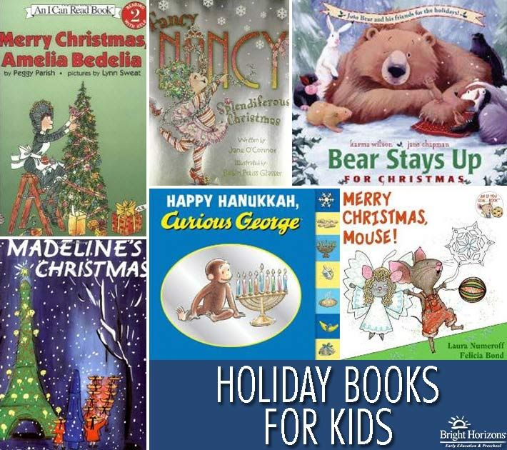 Holiday Books for Kids - Gift guide for children who love to read.