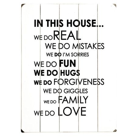 In This House Wall Decor
