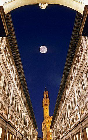 Europa, Italia, Toscana, Florencia, Galería de los Uffizi