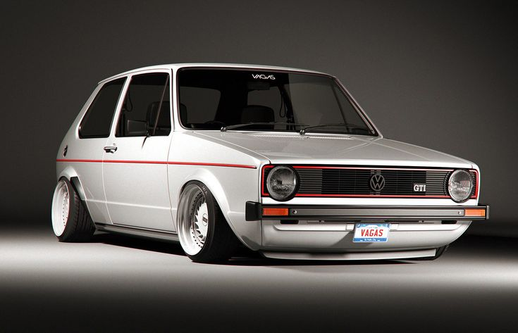 Always wanted an old gti like this... vw golf mk1