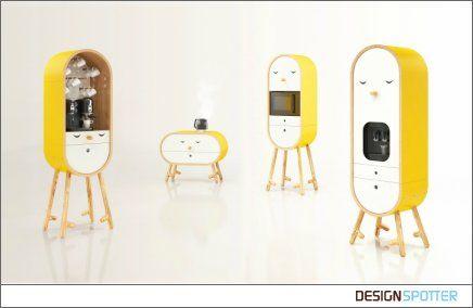 The LoLo microkitchen on Designspotter