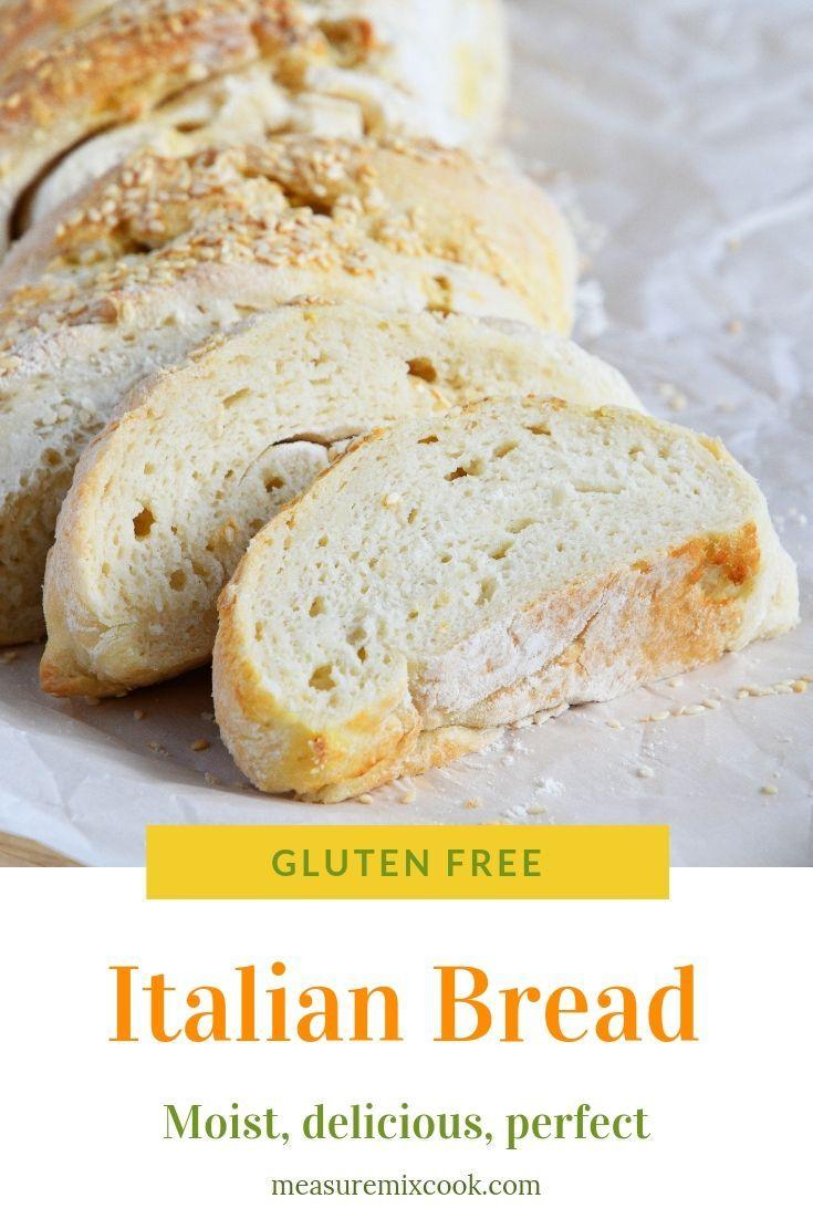 Gluten Free Italian Bread Is The Best Easy To Make Gluten Free Bread Gluten Free Italian Bread Gluten Free Italian Gluten Free Italian Bread Recipe