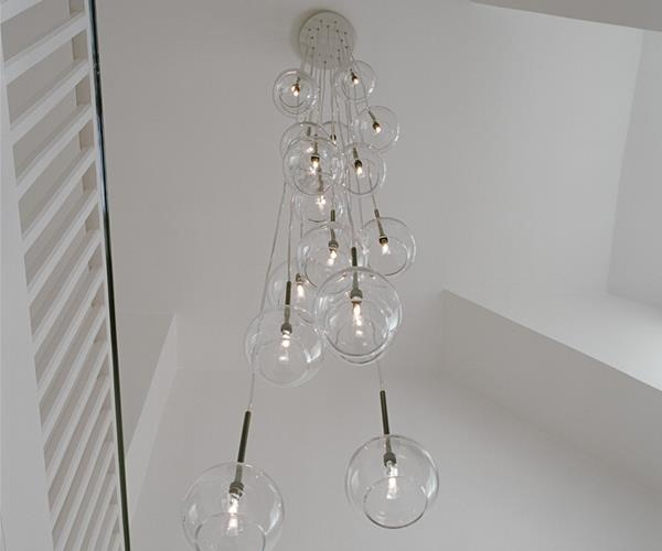 Refer + Staer Ice Chandelier