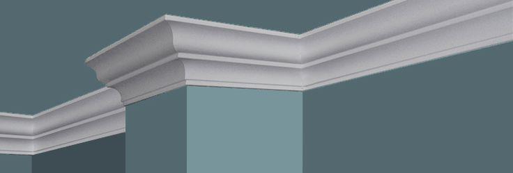 Foam Crown Molding | Easy Crown Molding | Styrofoam Crown Molding http://sosimplecrown.com/