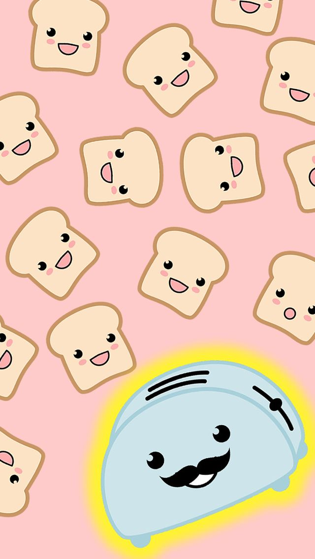 iPhone 5 Wallpaper I got toasters but no toast!! @Melissa Jacqueline