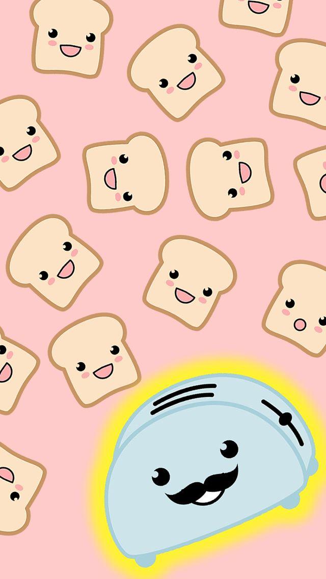Cute Toaster Iphone 5 Wallpaper