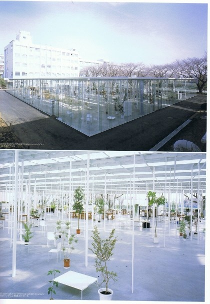 Kanagawa Institute of Technology Workshop by Junya Ishigami / amazing space, an architectural forest-http://www.alphawrites.com/