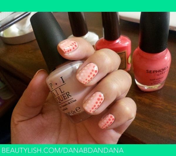 Gradient Dots (pinkiegrey)