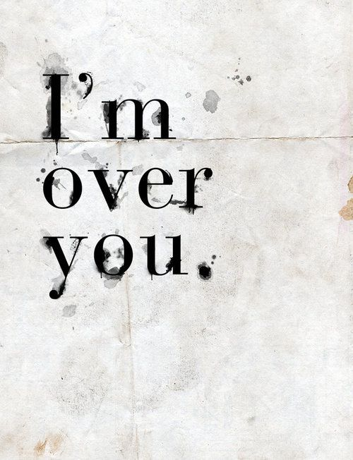 Now that I am over YOU! I feel amazing. You being a lying cheater was the  best thing that could've happen for ...