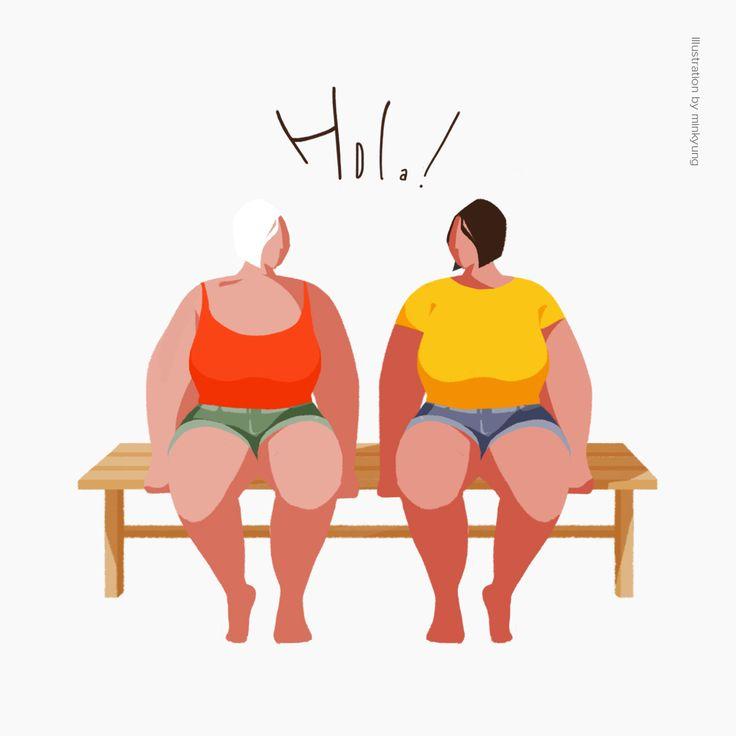#Hola! #girls illustration by minkyung
