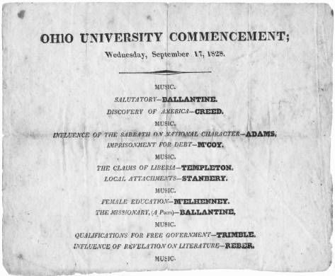 Best Commencement  Ohio U Images On   Colleges
