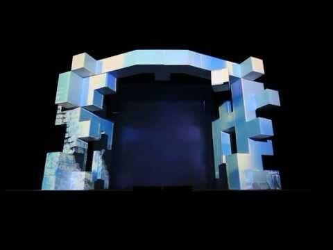14m x 8m size real 3D video mapping projection. Vetités.hu Ltd. - www.vetites.hu - info@vetites.hu