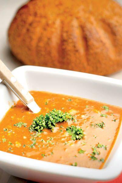 Supă cremă de morcovi   Retete culinare - Romanesti si din Bucataria internationala