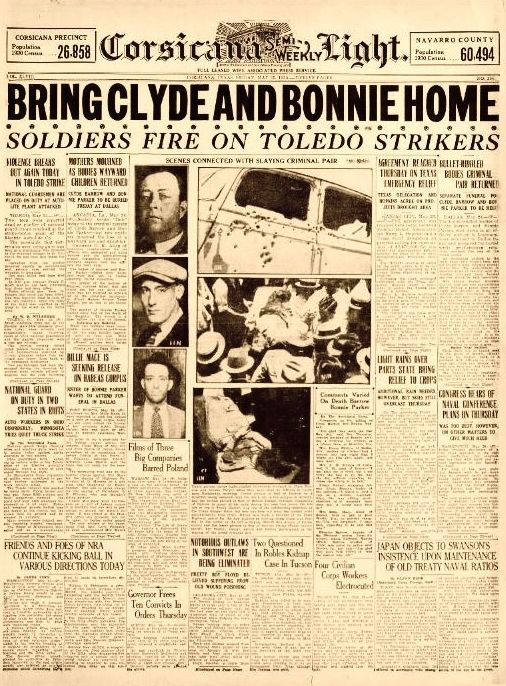 The Real Bonnie And Clyde Wanted Posters 19762 | MOVIEWEB