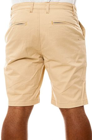 $52, Tan Shorts: Filthy Etiquette The Justin Shorts. Sold by Karmaloop. Click for more info: https://lookastic.com/men/shop_items/54576/redirect