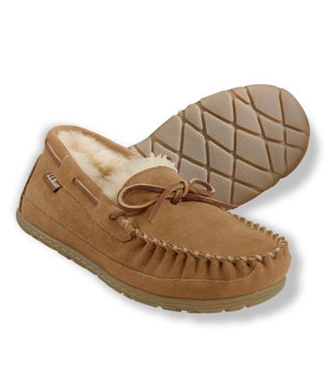Because no man should be forced to pad around his place barefoot. Mocassins ($69) by L.L. Bean, llbean.com   - Esquire.com