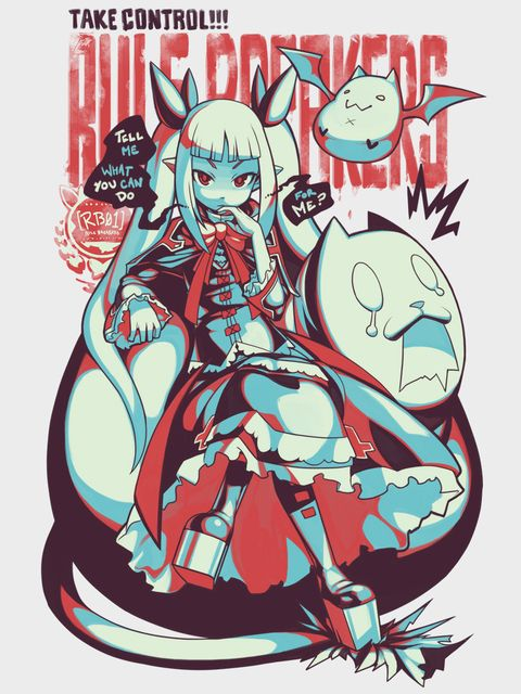 Blazblue Rachel T-shirt available at Eighty Sixed Clothing.